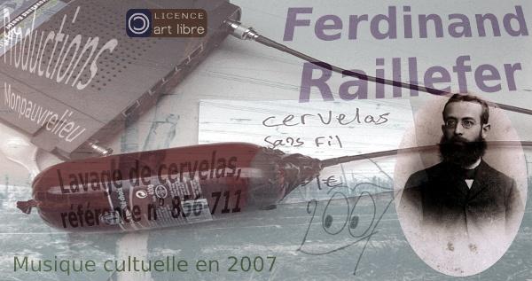 """[Pochette de l'album """"Lavage de czærwőlágs référence #856-771"""" - Ferdinand Raillefer]"""