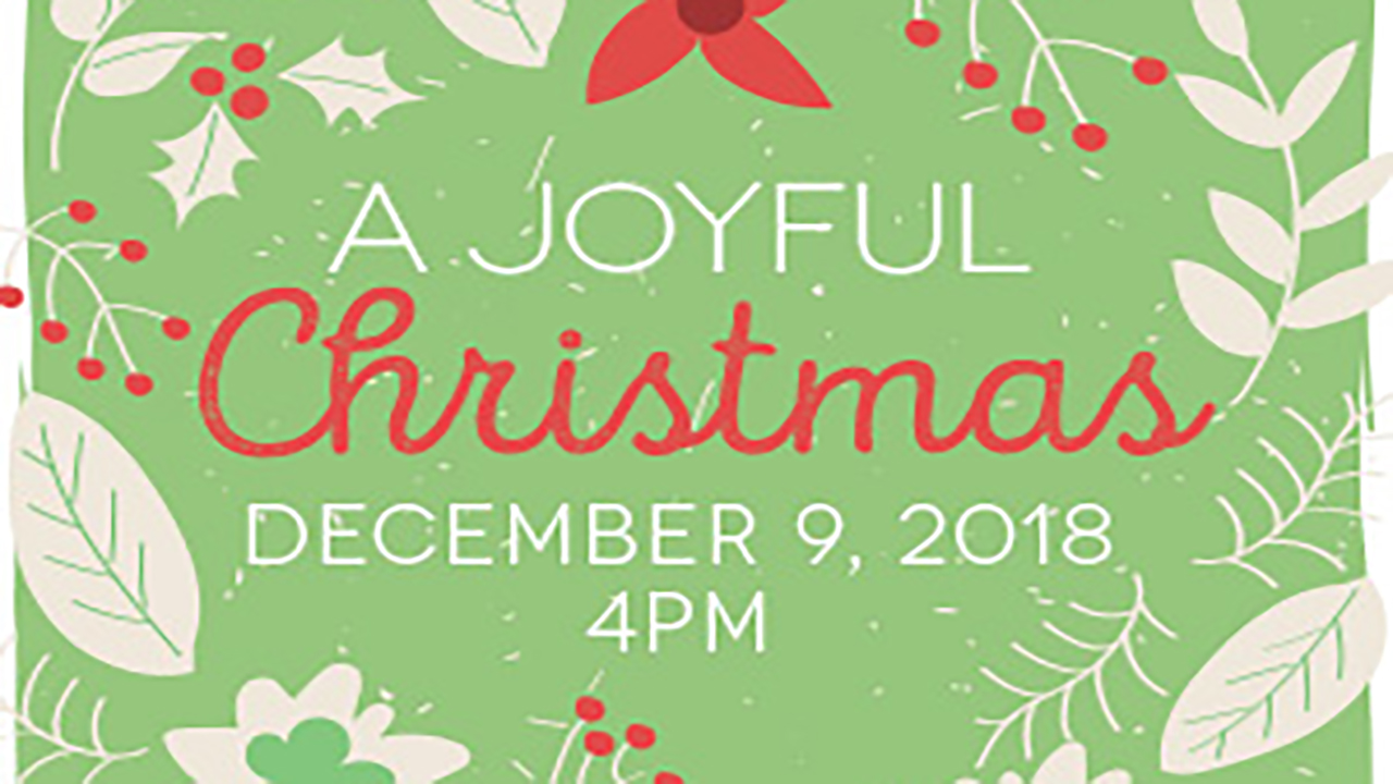 "The Auburn Chamber Orchestra presents ""A Joyful Christmas"""