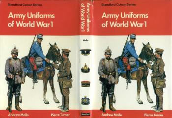 Army uniforms of World War I by Andrew Mollo