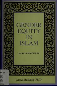 Gender equity in Islam by Jamal A. Badawi