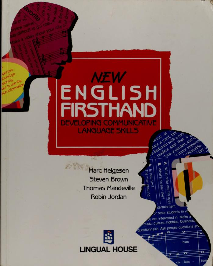 New English Firsthand by M. Helgesen